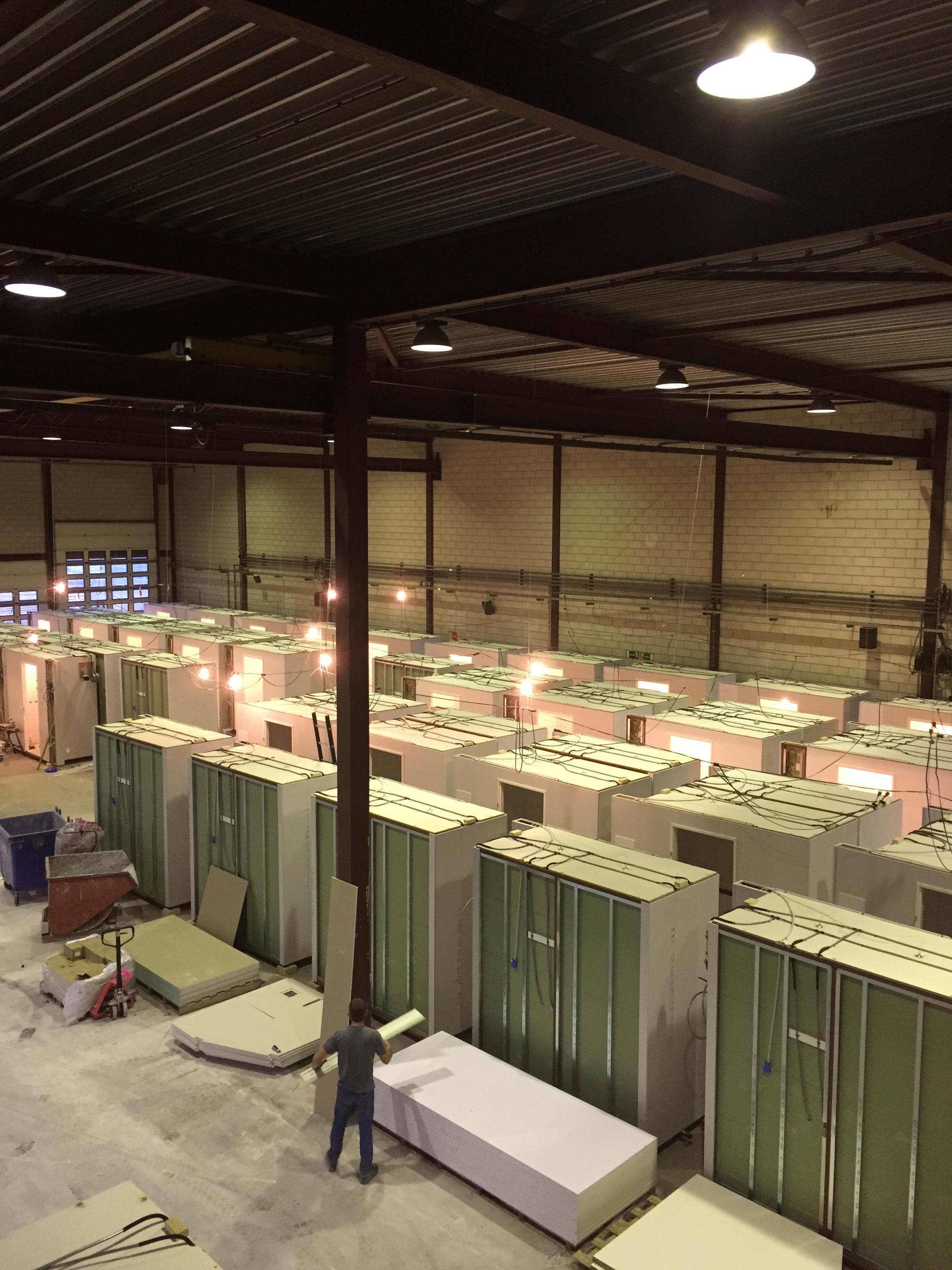 440 prefab badkamers waterdicht afgekit