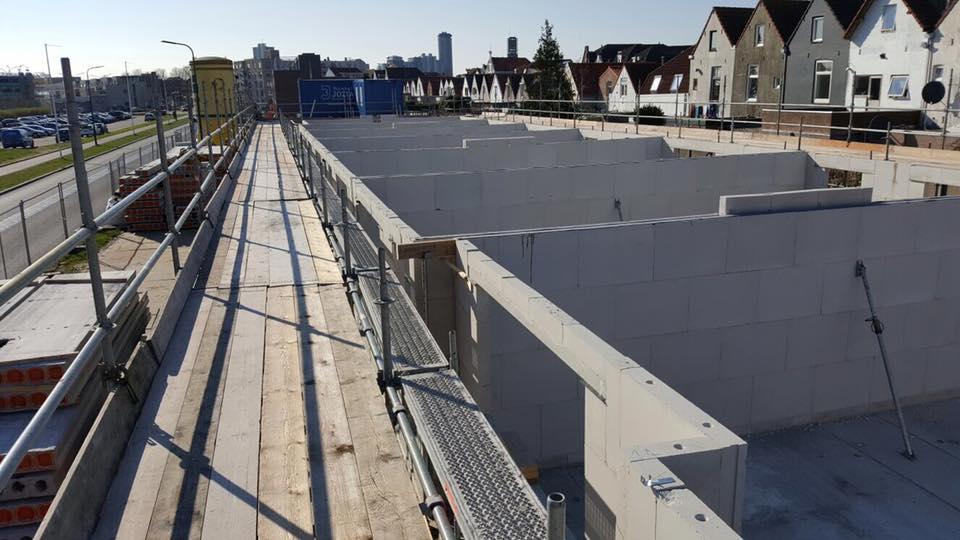 Nieuwbouw kitwerk Kitvoegen Vlissingen Zeeland