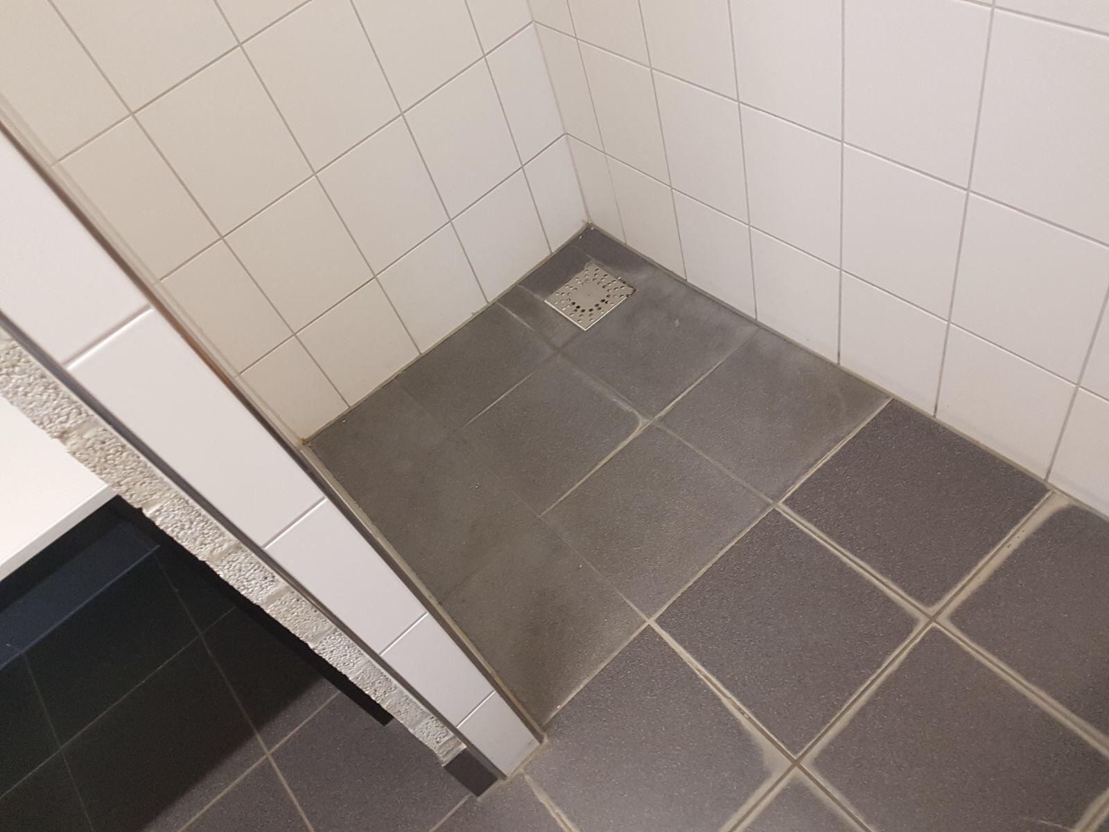 Gekitte badkamer